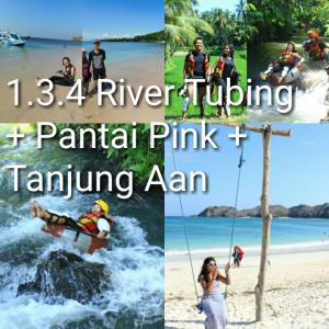 tour 3D2N, river tubing, pantai pink, tanjung aan