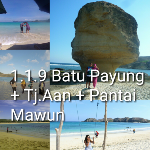 lombok one day tour mandalika mawun
