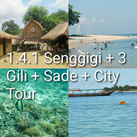 itinerary tour lombok 4 hari 3 malam 3 gili mandalika