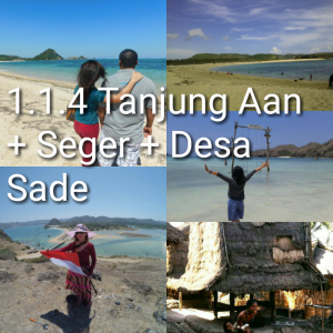 lombok one day tour tanjung aan desa sade