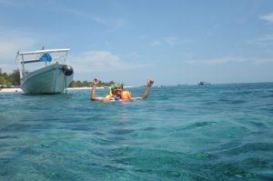 snorkeling ke Trawangan
