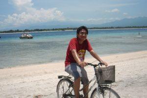 sepeda Gili Trawangan