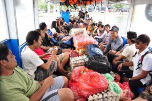 public boat penyeberangan gili trawangan