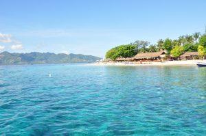 gili air lombok saat pagi