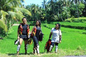 river tubing lombok tour
