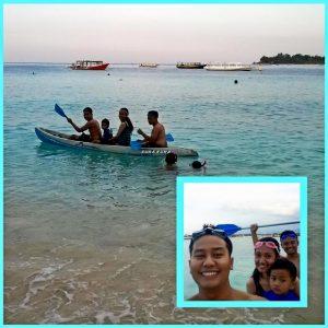 paket tour lombok 3 hari 2 malam 3 gili tramena