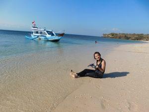 tour lombok 2 hari 1 malam pantai pink pulau kambing