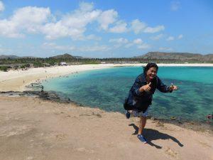 tour pantai tanjung aan lombok tengah
