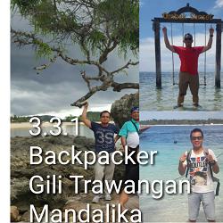 Backpacker ke Lombok 3 Hari 2 Malam Gili Trawangan