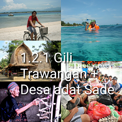 paket tour lombok 2 hari 1 malam gili trawangan