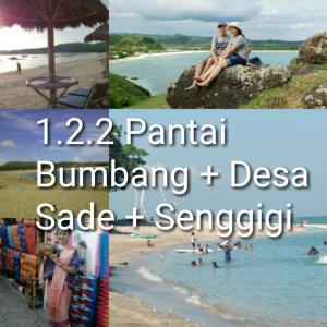 paket tour lombok 2 hari 1 malam senggigi bumbangku