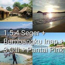 paket tour lombok 5 hari 4 malam gili pink bumbangku