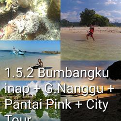 paket tour lombok 5 hari 4 malam nanggu pink