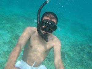 snorkeling di Trawangan