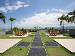 roof top Hotel Golden Palace Lombok
