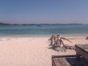 pantai Pasir Putih Gili Meno
