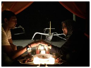 564_traveling lombok_romantic dinner verve beach club