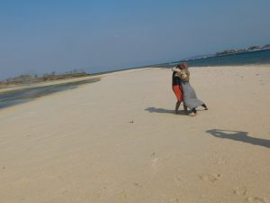 honeymoon di pulau Pasir Lombok