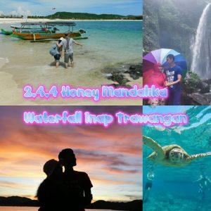 paket honeymoon lombok 4D3N 2.4.4