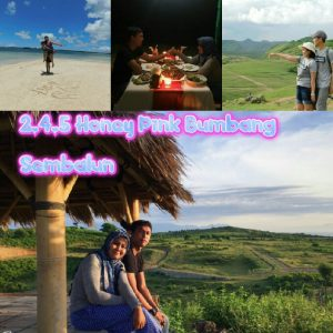 paket honeymoon lombok 4D3N 2.4.5