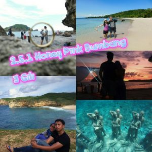 paket honeymoon lombok 5D4N