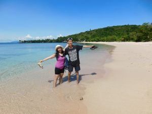 pantai pink Lombok honeymoon