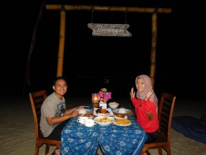 romantic dinner bumbangku