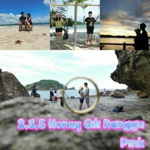 bulan madu lombok 3D2N ke Gili Nanggu plus pantai Pink