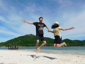 honeymoon di Gili Kedis