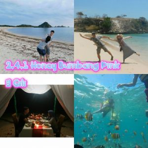 paket honeymoon lombok murah 4 hari 3 malam pink gili