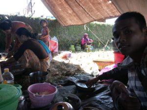 tenda pengungsian lombok